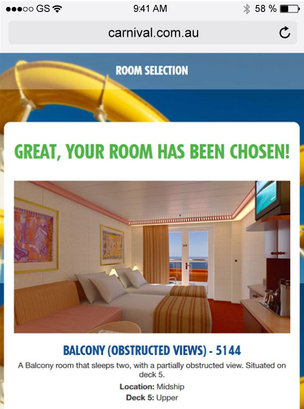 Room selection